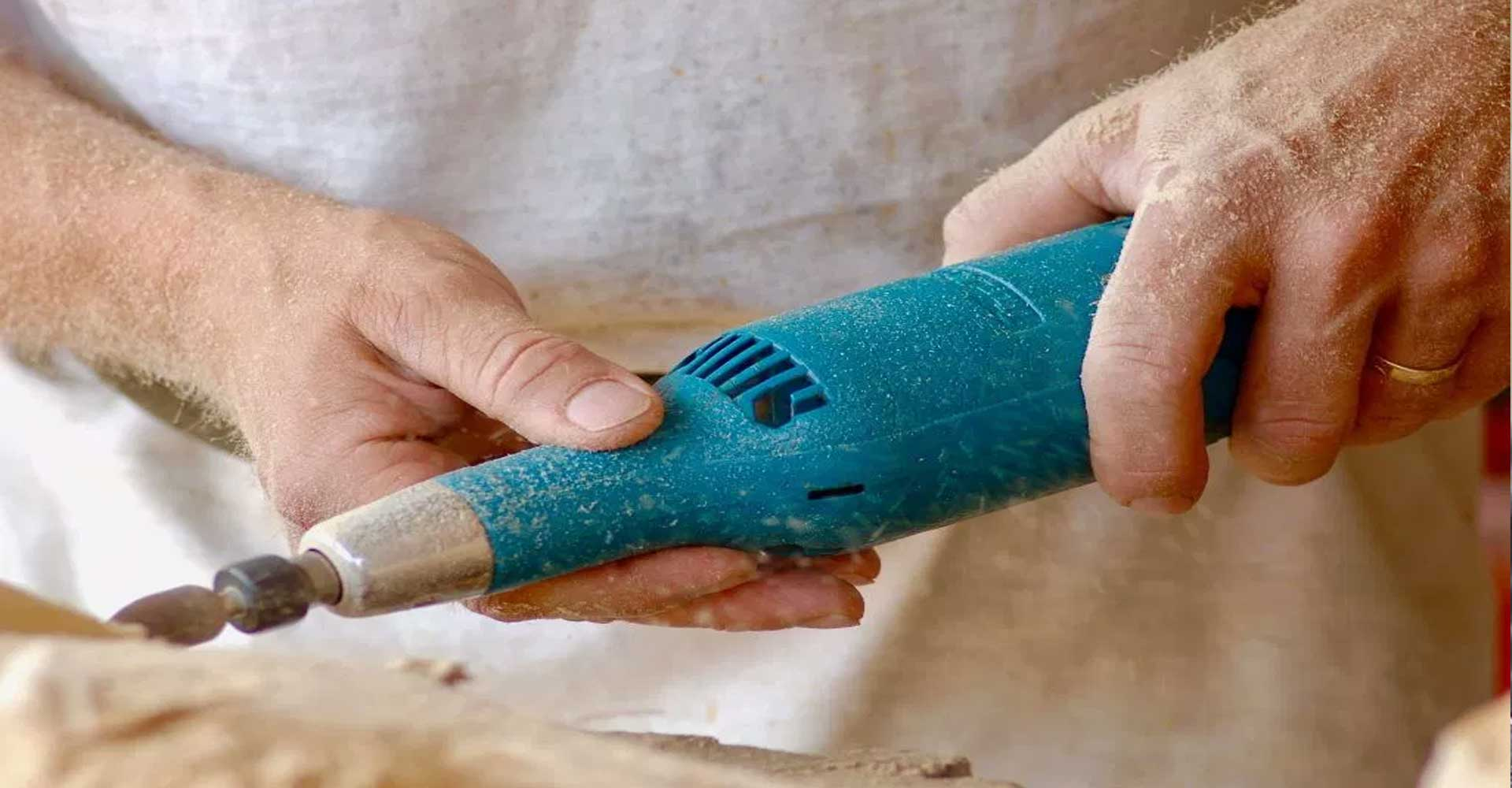 Close up woodworking hand-tool